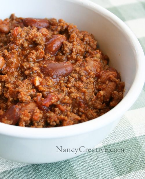 Pioneer Woman chili recipe