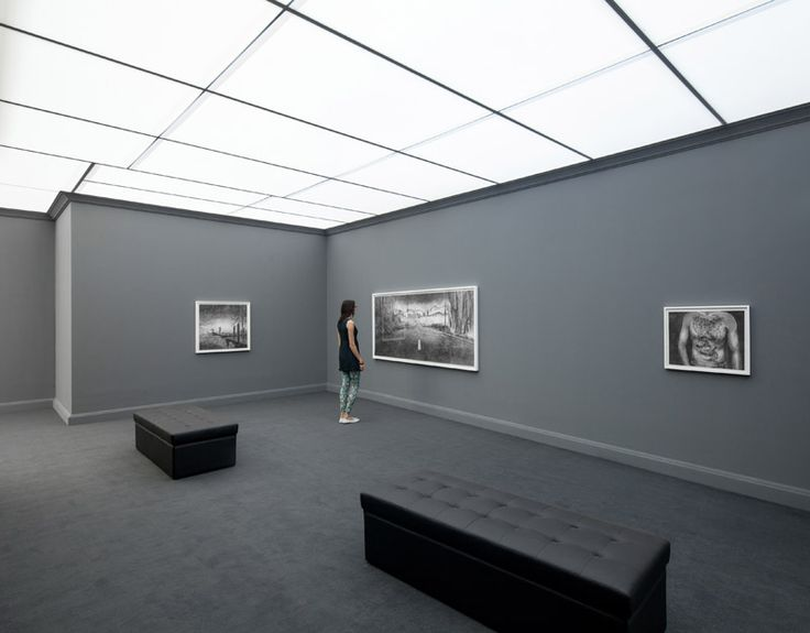 Hans Op de Beeck, The night time drawings, Galleria Continua, Beijing, 2014. General view of the exhibition. Photo by Oak Taylor-Smith.