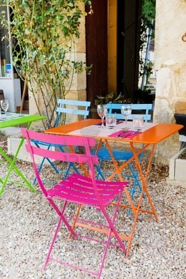 Kleuren - Kleur - Tuin - Colorfull - Color - Colors - Colour - Garden ♥ Bistro Set Please note theses are images we like and not actual products from Kingdom of Love.