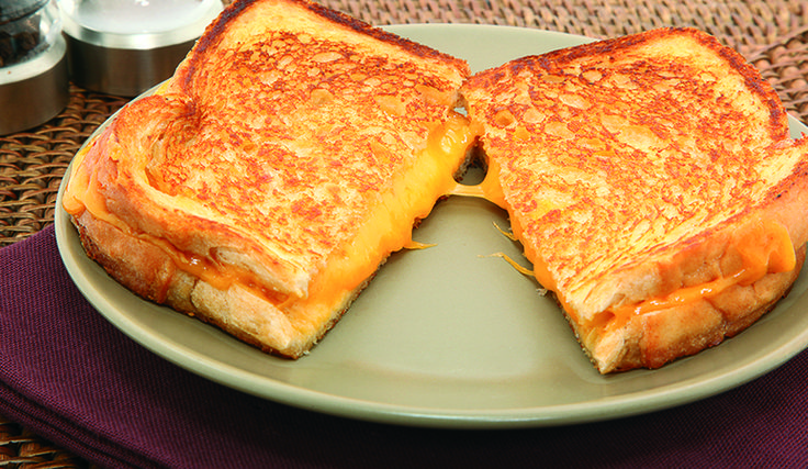 April 12 - Grilled Cheese Sandwich Day