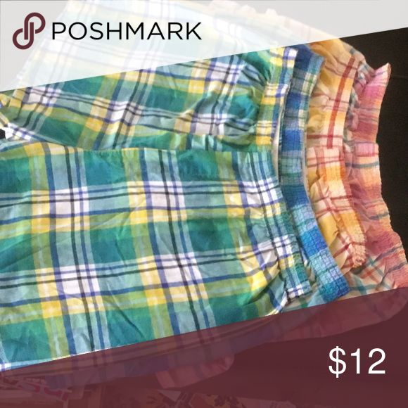 Fruit of the loom Boxers Bundle of four Fruit of the Loom plaid boxers. These are all XLarge,each pair have different colored plaid. Fruit of the Loom Intimates & Sleepwear Pajamas