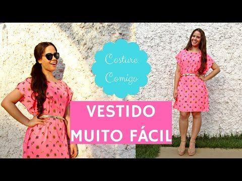 O vestido de verão mais fácil que existe! Costura para iniciantes | Ellen Borges - YouTube