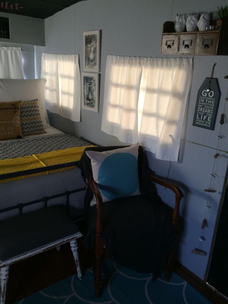 Caravan turn bedroom