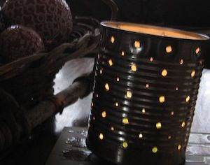 How to Make a Tin-Can Lantern via Rookie mag