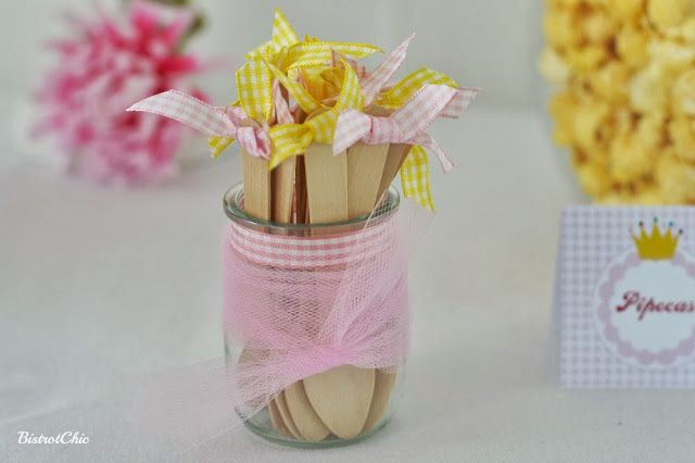 Enchanted Princess Party wooden spoons