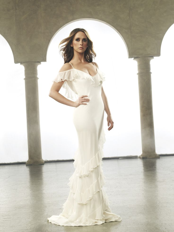 Ghost hisperer white dress