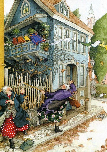 Inge Löök   FINLAND Artist: illustrator and gardener, was born in Helsinki in 1951