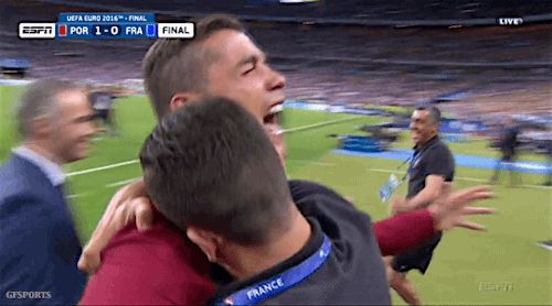 New trending GIF tagged crying cristiano ronaldo cry...