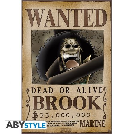 ONE PIECE Poster One Piece Wanted Brook (52X35)