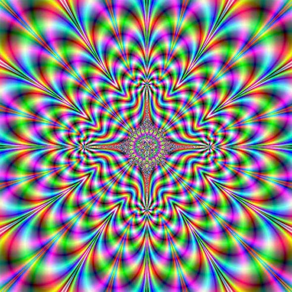 optical illusion mandalas | divertido taringa imagenes ya_no_hay_nombre