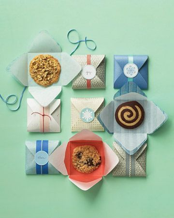 Cookie packaging. An extra-special way to hand out treats to sisters as a thank you or recognition!