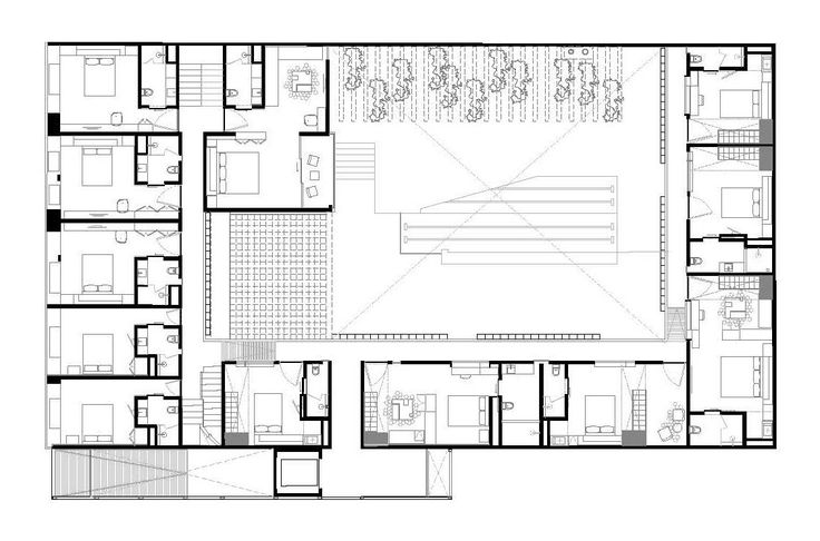 Mejores 50 im genes de planimetr a hoteles en pinterest for Arquitectura de hoteles