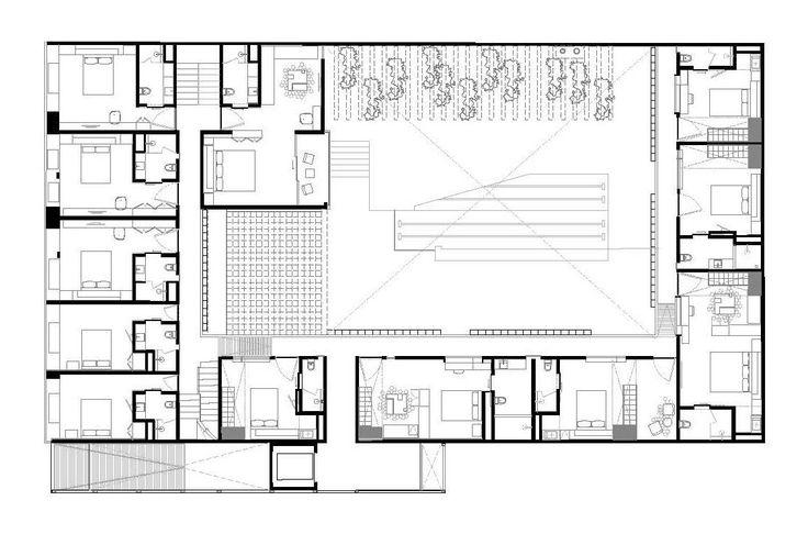 M s de 10 ideas incre bles sobre plano de planta de hotel for Hoteles en planta