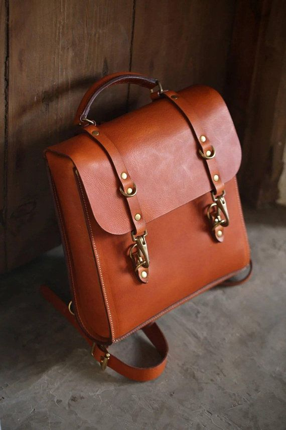 8a26479aa72a Hipster leather backpack women men/leather satchel/laptop backpack ...