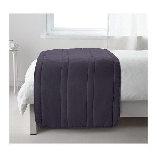 ikea gullregn chemin de lit grande douceur car le couvre lit est rembourr facile. Black Bedroom Furniture Sets. Home Design Ideas