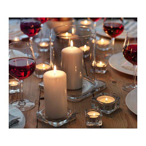 GLASIG Plat pour bougies  - IKEA