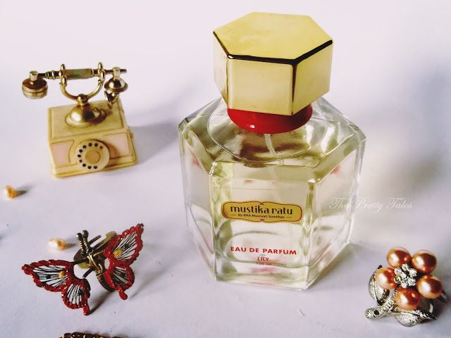 Mustika Ratu EDP Lily Review | The Pretty Tales