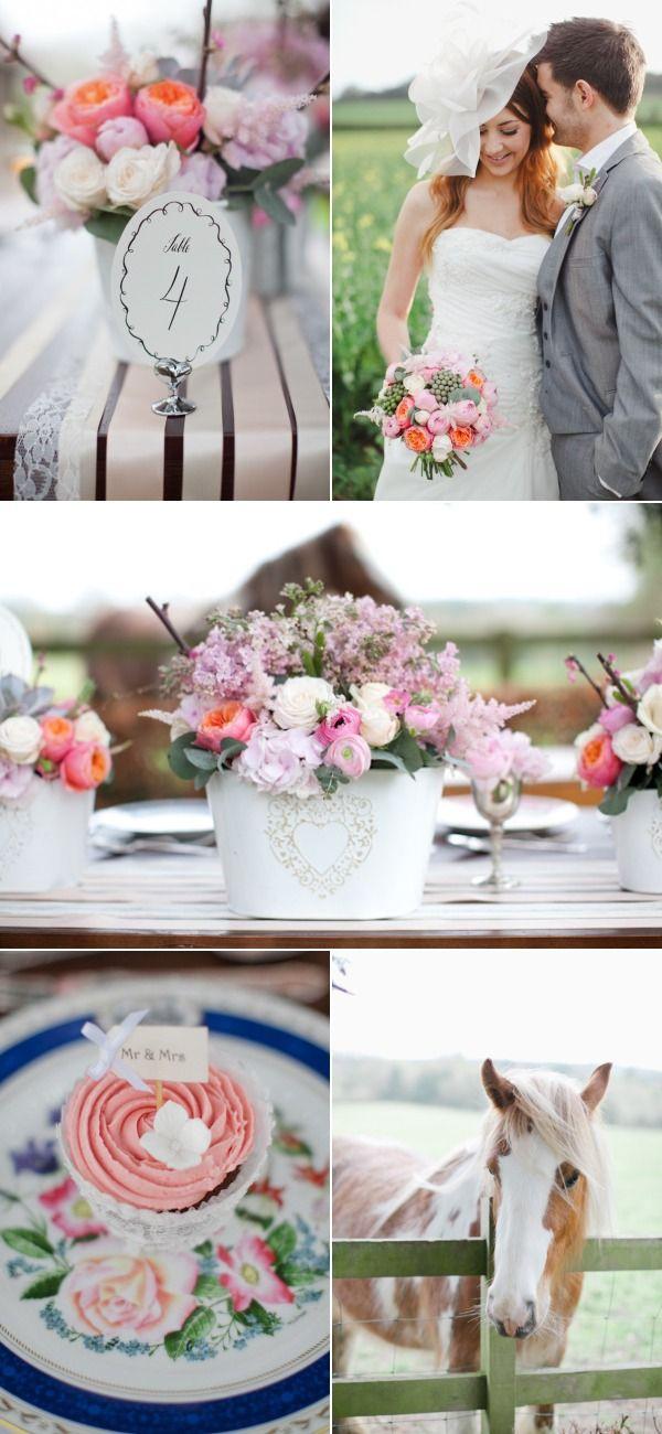 English Countryside Wedding Photo Shoot by Caroline Joy Photography