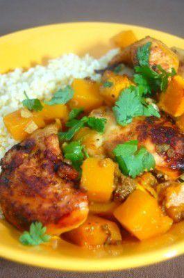 Noord-Afrikaanse tajine met kip en pompoen recept - Kip - Eten Gerechten - Recepten Vandaag