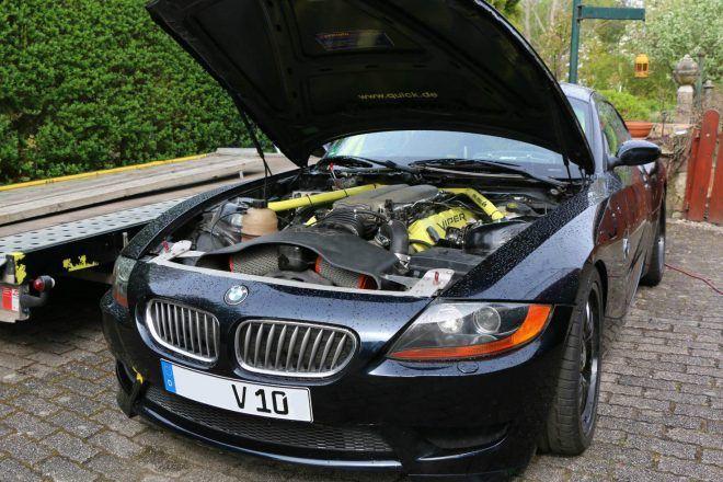 Just Listed: BMW Z4 Coupe with 8.3-Liter Viper V-10 Swap - http://carparse.co.uk/2016/09/12/just-listed-bmw-z4-coupe-with-8-3-liter-viper-v-10-swap/