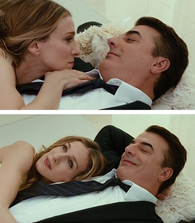 Aren't we all in a pursuit to find our Mr. Big? Time to watch the series beginning to end...love it!
