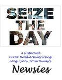 "Child Labor CLOSE Read Using Song Lyrics: ""Seize the Day,"""