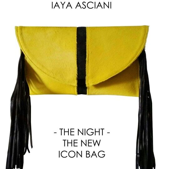 The Night la pochette iaya asciani