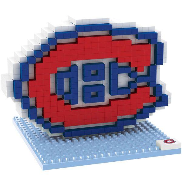 Montreal Canadiens 3D Logo BRXLZ Puzzle - $16.99