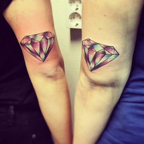 Girly Best Friend Tattoos: 12 Best Most Popular Friendship Tattoo Images On Pinterest