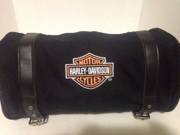 Harley Davidson Motorcycle Handlebar Bag #HarleyDavidson