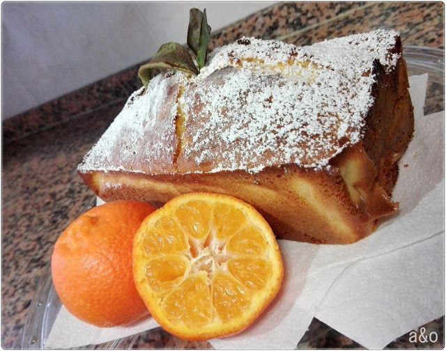 Plum cake de mandarina