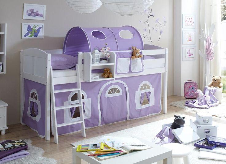 25+ best ideas about babybett weiß on pinterest   babyzimmer ... - Kinderzimmer Weis Lila