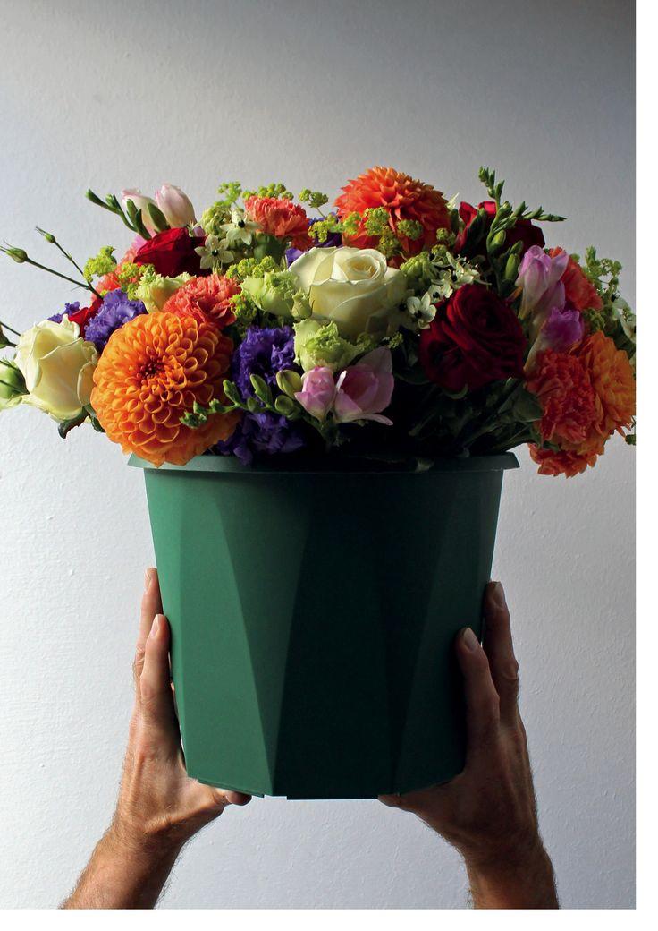 Transport Materials & Displays at Broekhof #Flowers #bucket #Containers #Florist #Broekhof