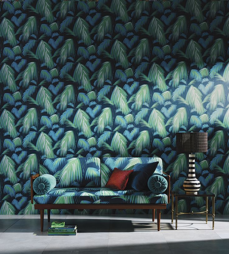 Tropical Interior Trend | Tropicana Wallpaper by Matthew Williamson | Jane Clayton