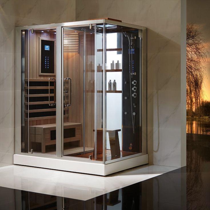 16 best steam shower images on pinterest shower cabin. Black Bedroom Furniture Sets. Home Design Ideas