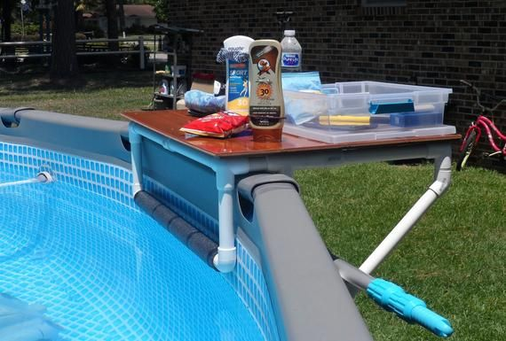 Aboveground Poolside Companion Decorar Piscina Piscinas