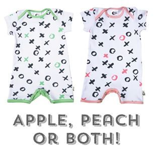 What's your favorite or do you need both?! Got twins? - These rompers will look super cute which ever you choose! 100% organic cotton 100% made in Australia! Available online now www.moonjelly.com.au #moonjelly #madeinaustralia #melbourne #twins #newcastle #organiccotton #organic #babyfashion #kidsfashion