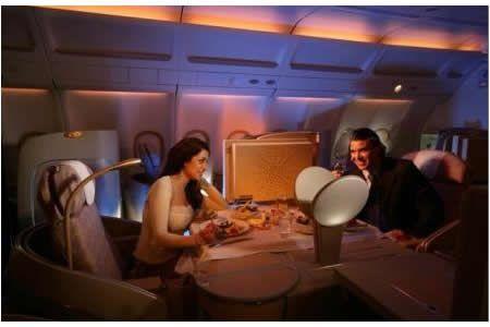 New purpose-built Airbus 340-500 and the revolutionary Diamond Seat of Etihad Airlines