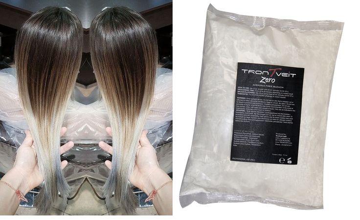 Zero AMMONIA FREE BLEACH TREATMENT Η καλύτερη πούδρα ξανοίγματος της αγοράς! Το Zero AMMONIA FREE BLEACH, χάρη στην ειδική του σύνθεση, δίνει το αποτέλεσμα που επιθυμείτε χωρίς να βλάπτει τα μαλλιά σας. Όταν αναμιγνύεται με τα οξυζενέ από 10' έως 40' volume, σχηματίζει μία μαλακή κρέμα κατάλληλη για όλες τις τεχνικές λεύκανσης μέχρι 6 τόνους στα φυσικά μαλλιά. Απόλυτα ισορροπημένη και αποτελεσματική με διαρκή αποτελέσματα.