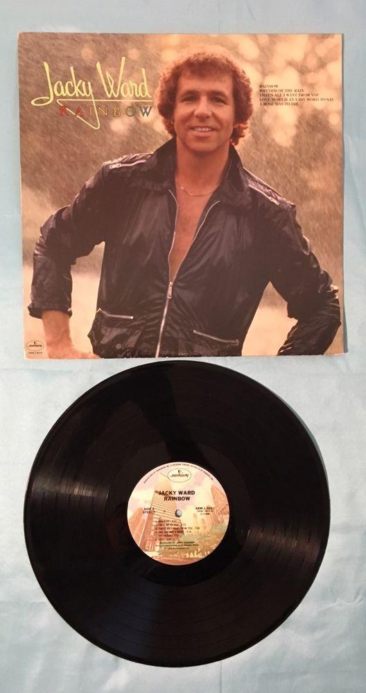 1978JACKY WARD Rainbow LP - SRM-1-5013 Vinyl Record (NM) Mercury Records  | eBay