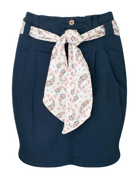 #Stradivarius #blue #skirt