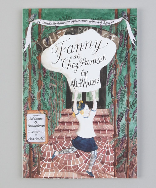 In this delightful children's book, written by the owner of the Chez Panisse Alice Waters, 7-year-old Fanny follows food from the garden to the kitchen table, learning important lessons about the relationship between people and the earth along the way. It includes 46 recipes for children & adults alike.