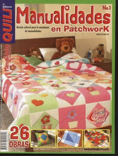 MANUALIDADES EN PATCHWORK Nº 1 - Lourdes Perez - Álbumes web de Picasa