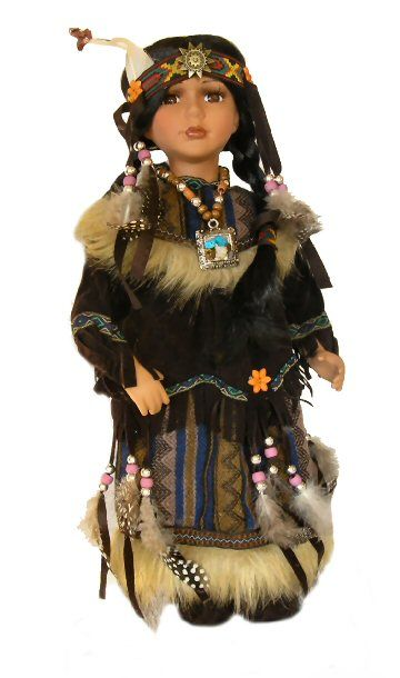 porcelain dolls | Porcelain Dolls-Porcelain Indian Dolls-Native American Porcelain Dolls ...