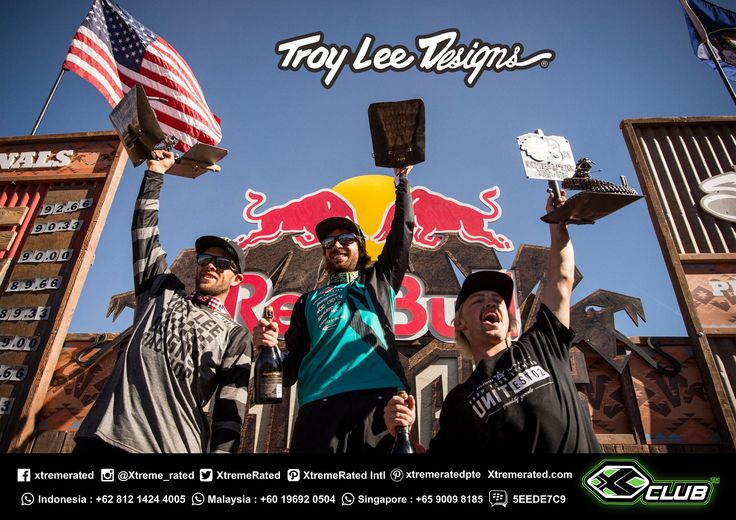 CONGRATULATIONS! TROY LEE DESIGNS' CAMERON ZINK NARROWLY MISSES RED BULL RAMPAGE WIN! 2nd Place Run CAMERON ZINK   Red Bull Rampage 2017 - Virgin, Utah.   #xtremerated #xclub #mx #troyleedesigns #tldmx #moto