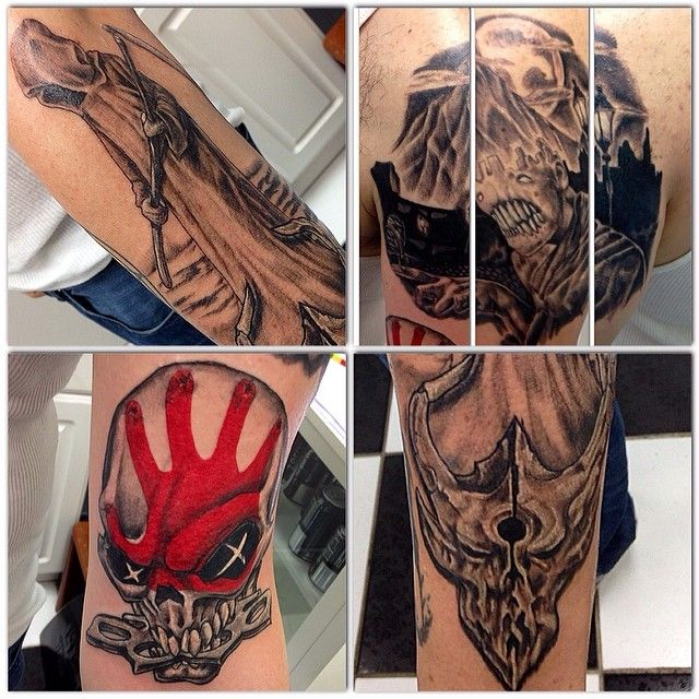 290 best body art tattoos piercings body modification for Coral springs tattoo