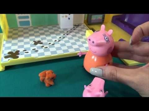 Peppa Pig en français. Peppa Pig rencontre l´écureuil. Peppa aide à l´écureuil de trouver son frère.  Plus video: https://www.youtube.com/user/MrDugaduga/videos