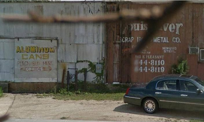 Silvers Salvage Yard Now Abandoned Belvidere Illinois