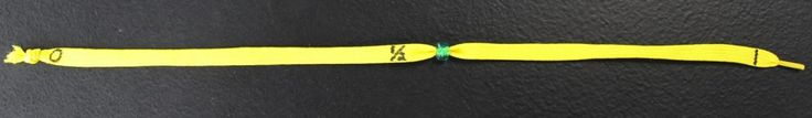 shoelaces and a bead....fractions, multiplication, division, rounding.