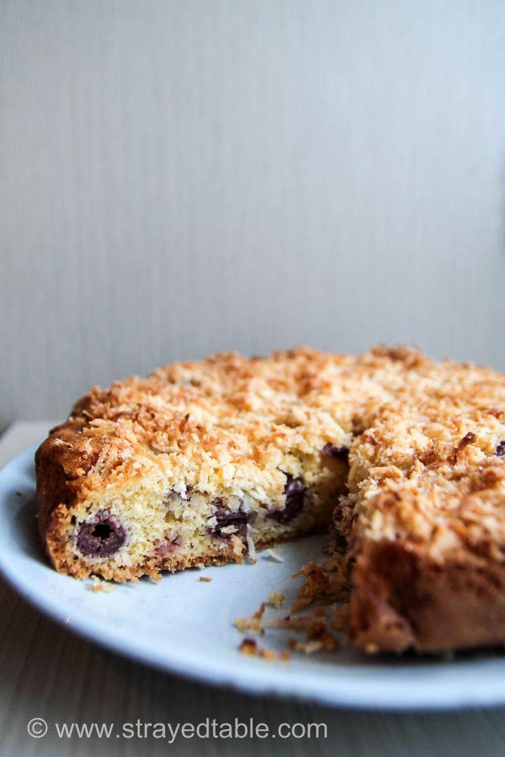 Cherry Coconut Cake Recipe